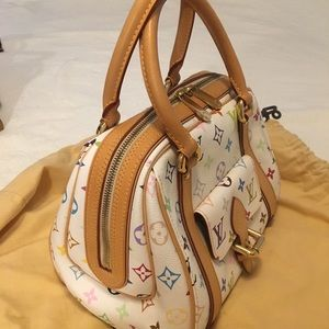 Authentic Louis Vuitton multicolored bag